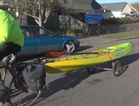 Eco Friendly Kayak Trolley