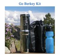Green BPA-free Water Filter Bottle
