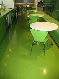 Green DalNaturel Rubber Flooring